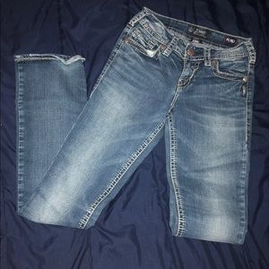 Sliver Bootcut Jeans 25x33